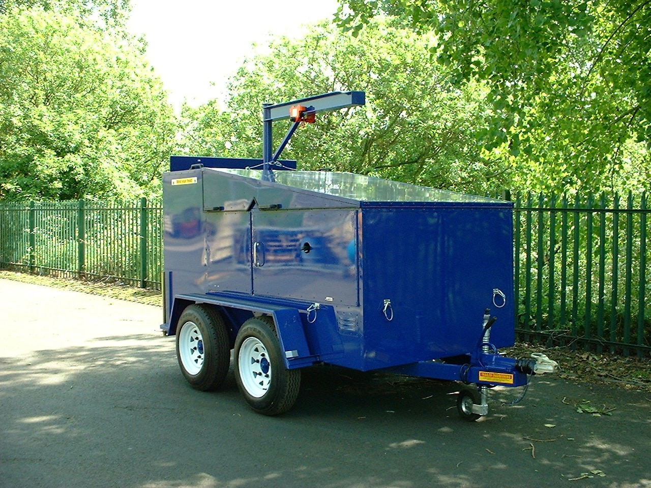 Lube Trailer Old Trailer , Refueller & Vac Tanks 278