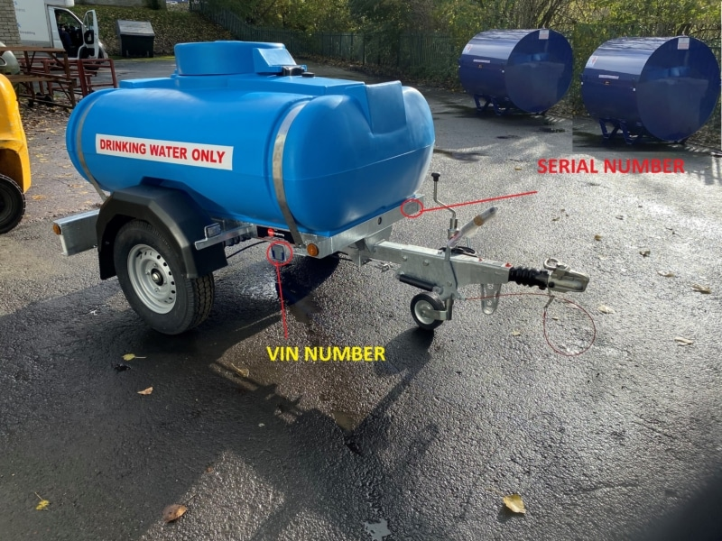 1125 litre water bowser with trailer numbers What is a Bowser? Trailer Engineering