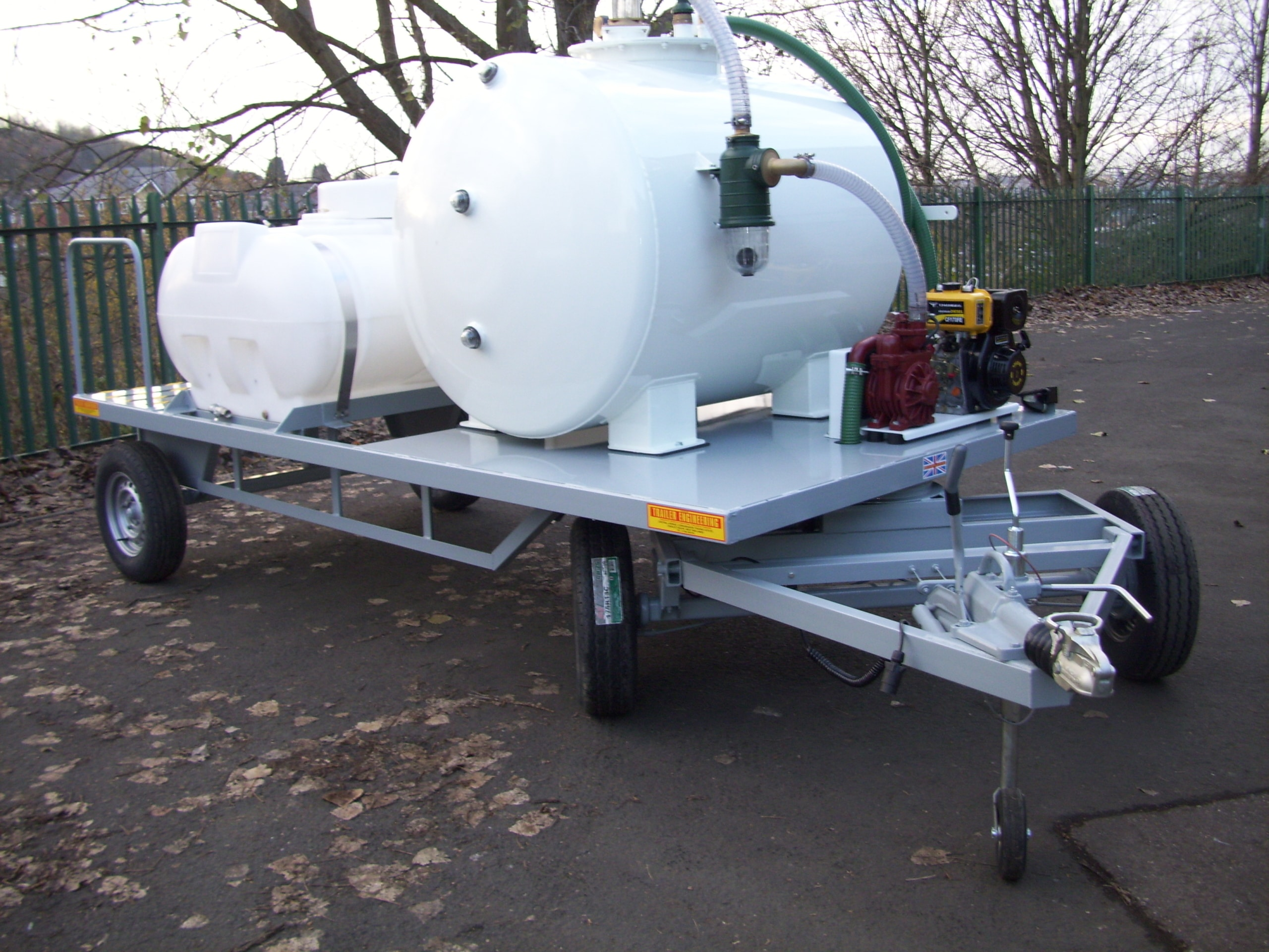 Stansted Vac tanker And Pressure Washer Trailer 018