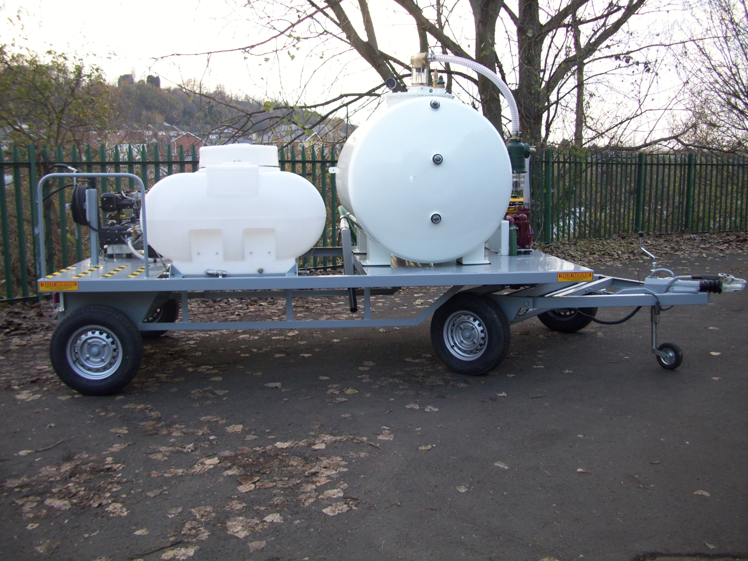 Stansted Vac And Pressure Washer Trailer 019