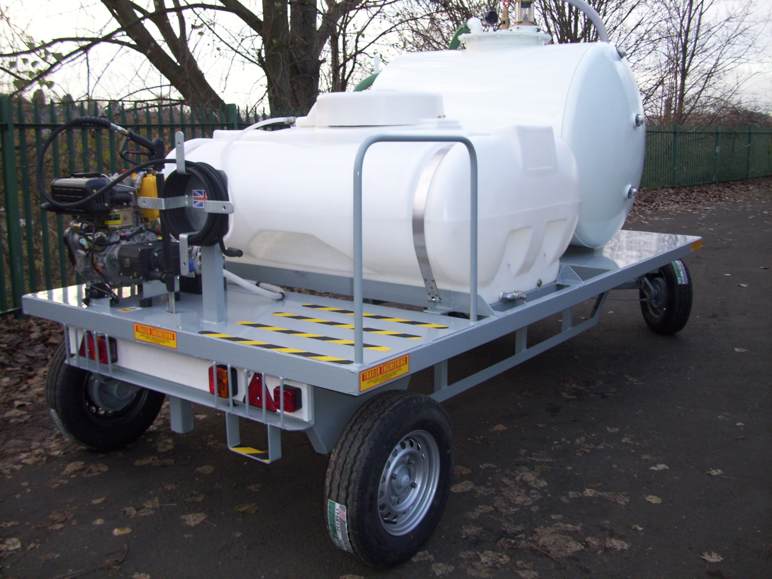 Stansted Vac tank And Pressure Washer Trailer 023