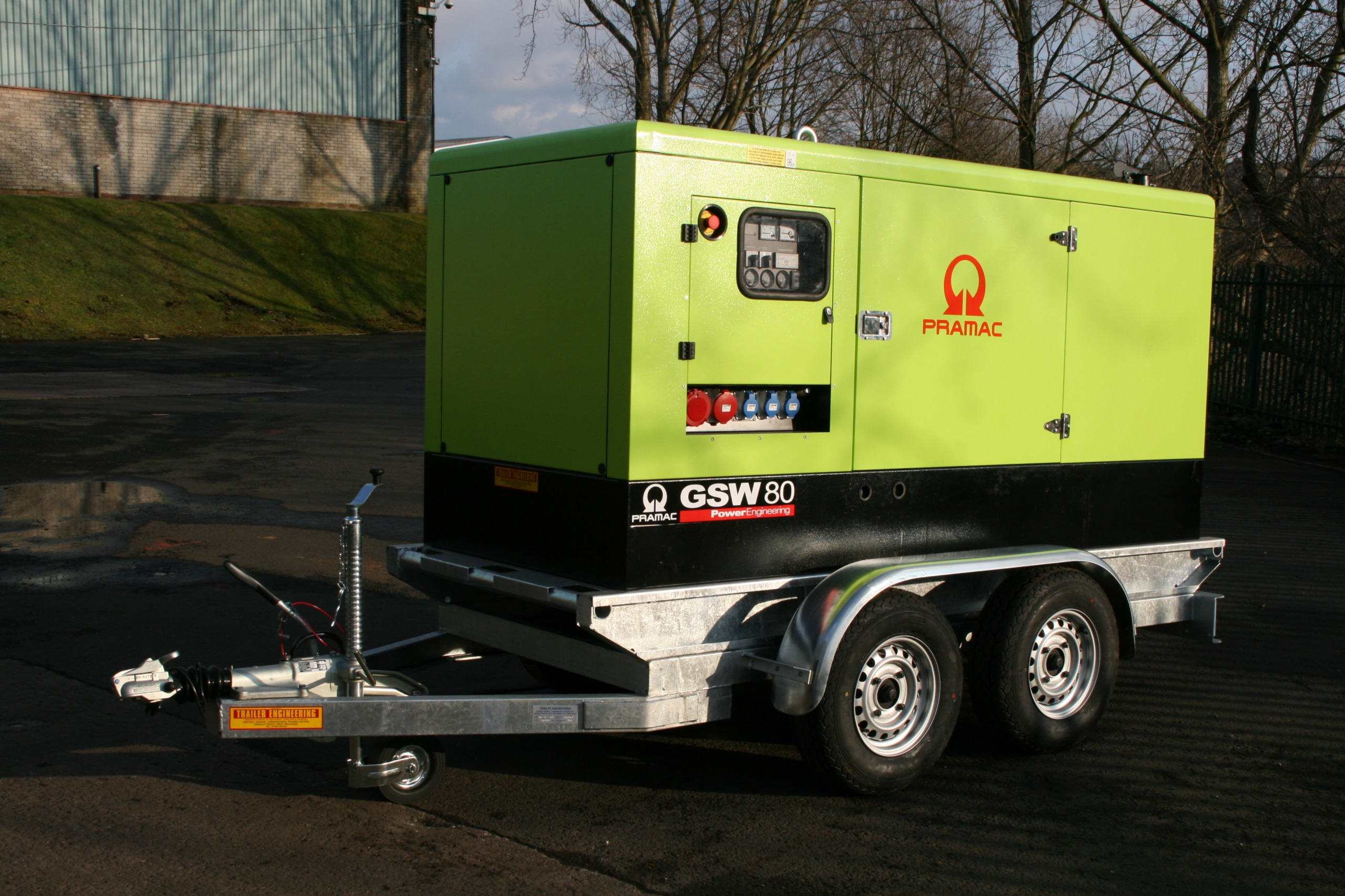 Lorry Mounted water tanks 003 scaled Bespoke Generator Trailer Trailer Engineering