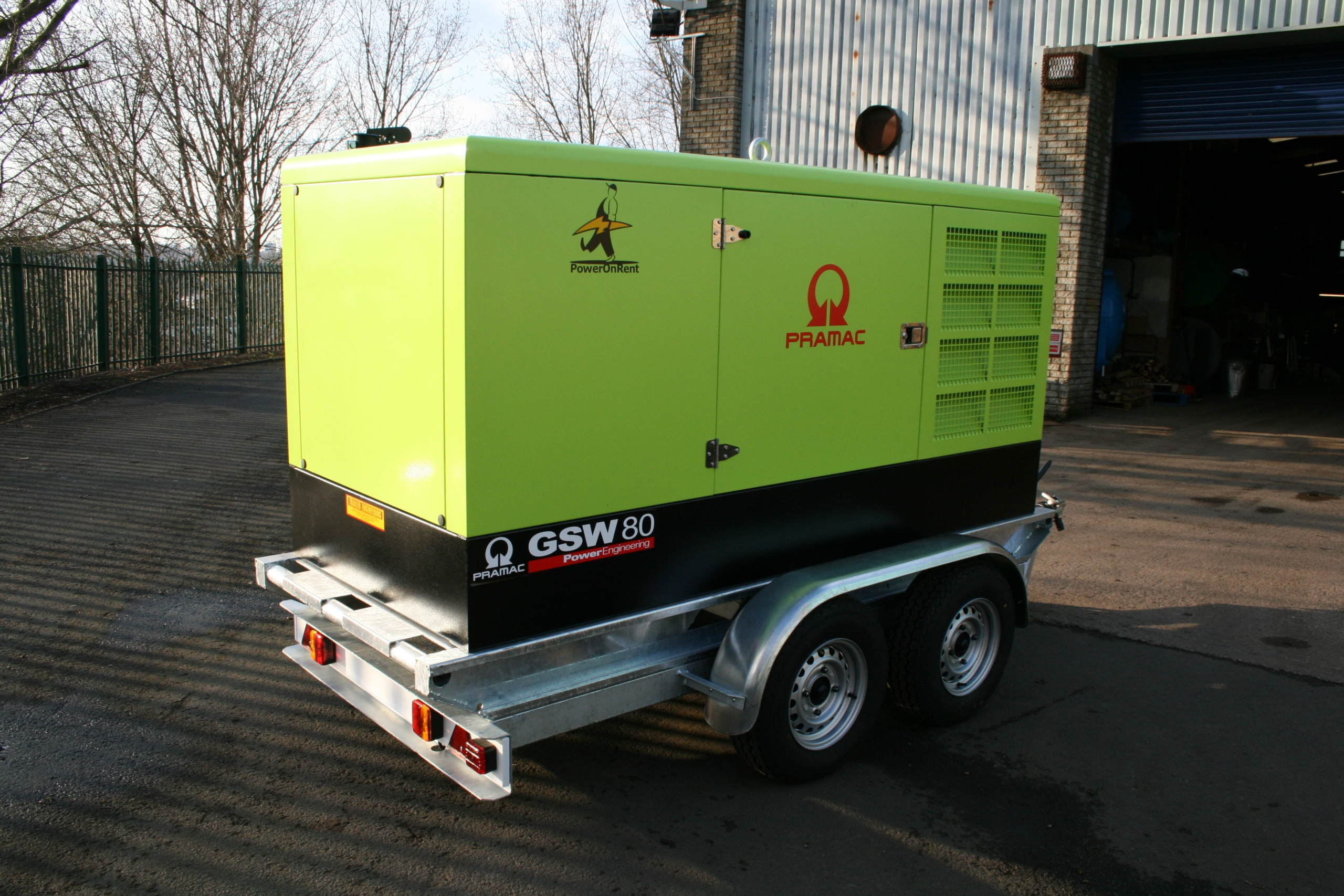 Lorry Mounted water tanks 007 scaled Bespoke Generator Trailer Trailer Engineering