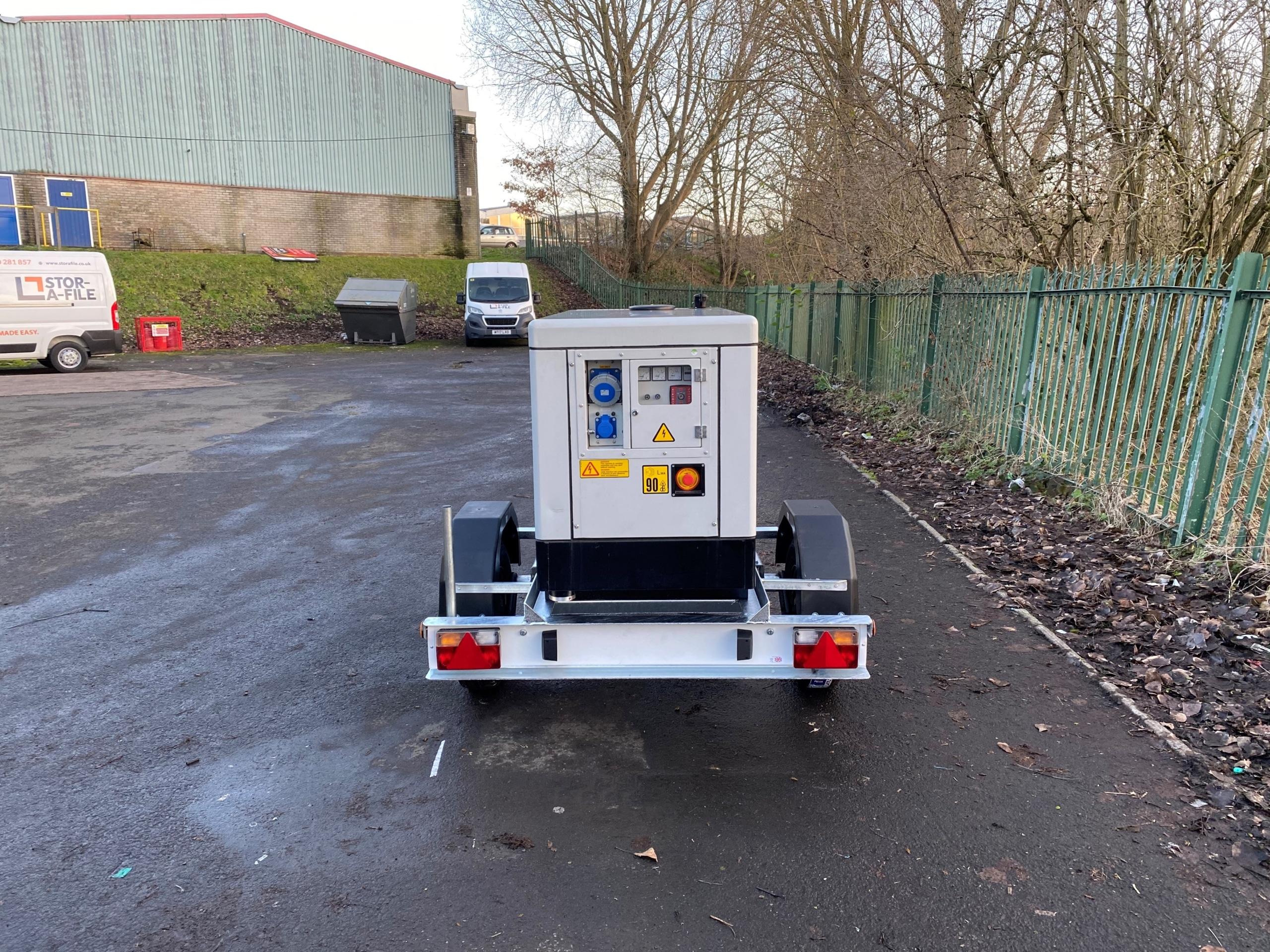Himoinsa HYW13 Generator Single Axle Trailer