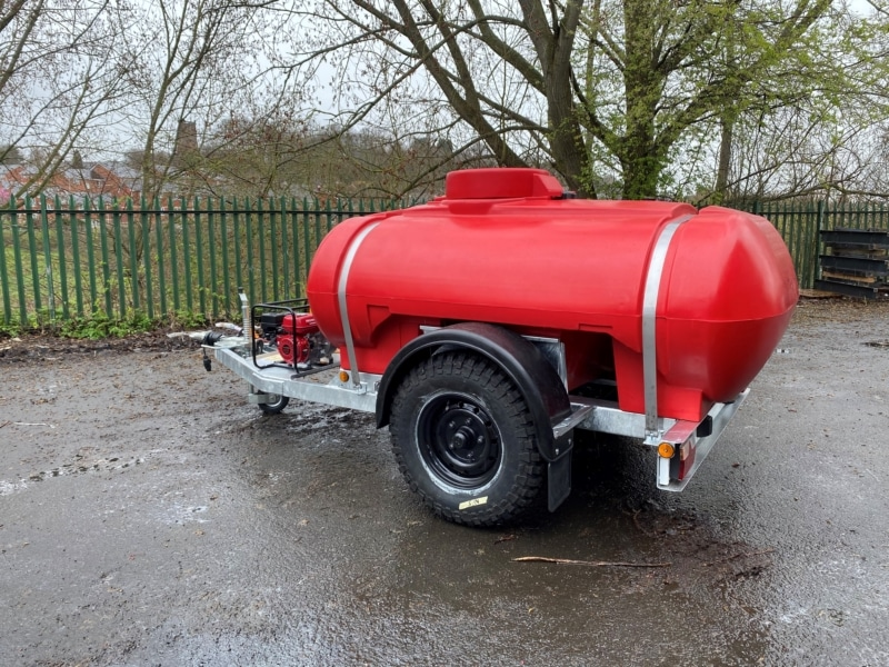 2000 Litre Fire Fighting Water Bowser With Honda Wb20xt