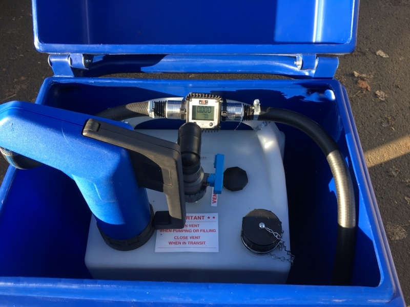Adblue fuel caddy bowset