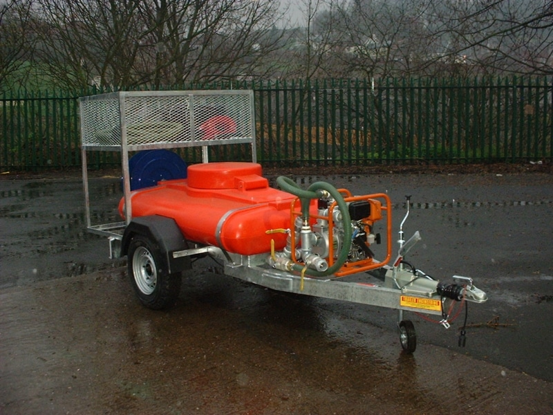 London Borough Of Ashtead Common Fire fighting waterBowser